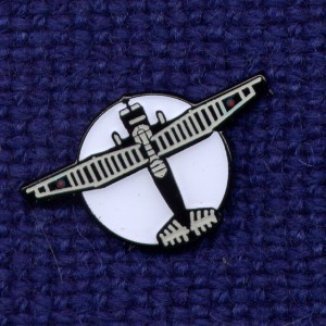 Lysander Pin Badge