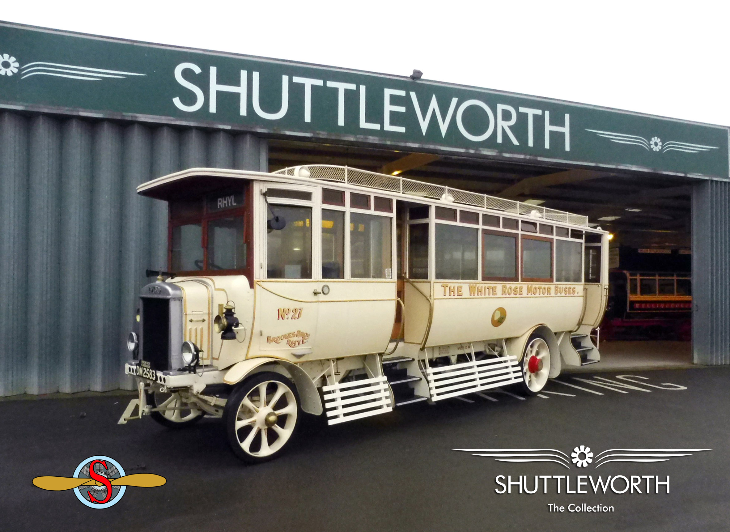 1923 Leyland SG7 'White Rose' recently acquired for the Shuttleworth Collection with the assistance of the SVAS - photo by Ciara Harper