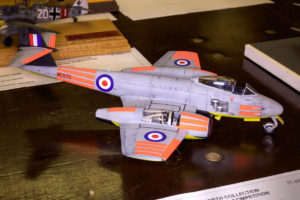 Meteor F8, winner of Best 1/48th Scale or smaller model