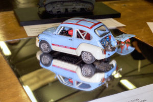 Best Large Model, 1/24th scale Fiat 600 Abarth with many superdetailed items