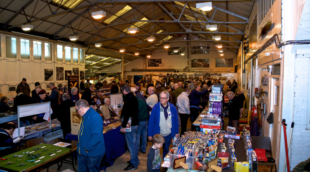 Hundreds of additional visitors enjoyed the 9th Scale Model Exhibition at Shuttleworth on Sunday 18th February