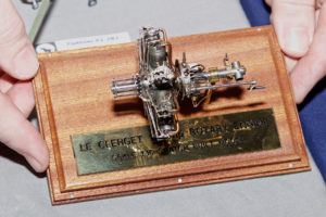 Scratch built Clerget rotary engine by Richard Watts - Winner of the John Morris Memorial Trophy for Best in Show